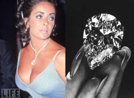 Elizabeth Taylor 1970 Peachy Pearl