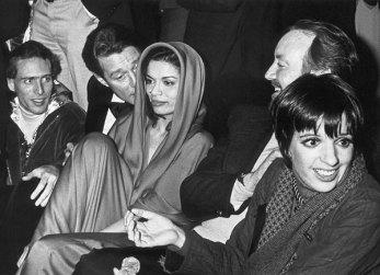 Halstron, Bianca Jagger e Liza Minnelli