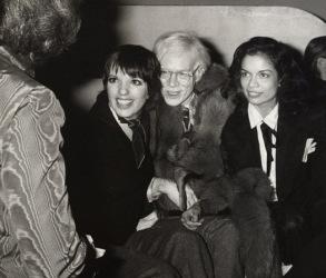 Liza Minnelli, Andy Warhol e Bianca Jagger