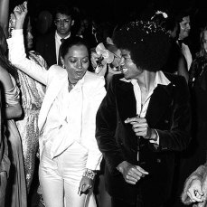Diana Ross e Michael Jackson, aos 20 anos @ Divulgação