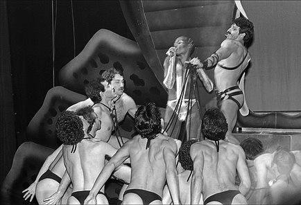 A performance de Grace Jones