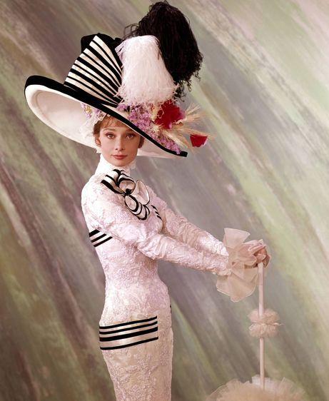 Minha Bela Dama/My Fair Lady garantiu o Oscar de figurino para Cecil Beaton em 1964 @ Reprodução