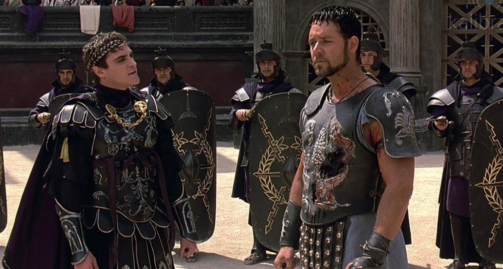 O Gladiador @ Reprodução