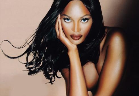 Naomi Campbell - a estrela negra da moda