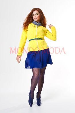 Casaco Body Plus, Vestido Forum, Calçado e Cinto KÉR e Meia Calça SCALA SEM COSTURA