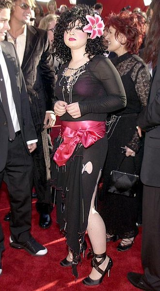 Kelly Osbourne no Emmy 2002