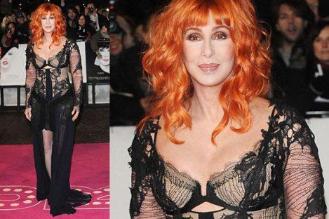 Cher Premiere Burlesque 2010