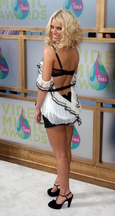 Jessica Simpson VMAs 2005