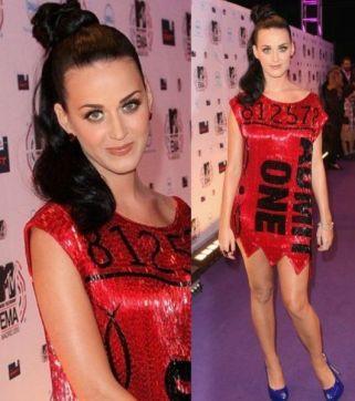 Katy Perry EMA 2011