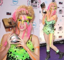 Kesha MTV Europe Music Award 2010