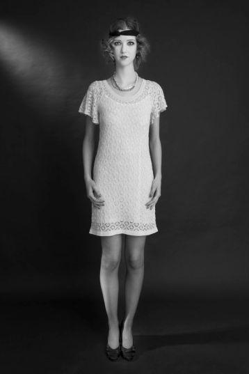 Vestido e acessórios Maria Filó