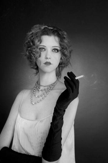 Vestido e acessórios Maria Filó | Luva acervo