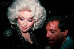 Dolly Parton e Steve Rubell
