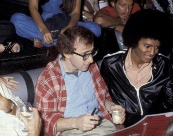 Woody Allen e Michael Jackson (1977)