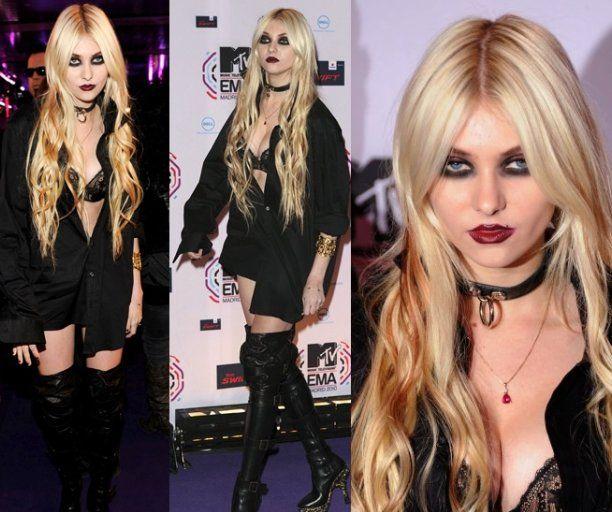 Taylor Momsen MTV Europe Music Award 2010