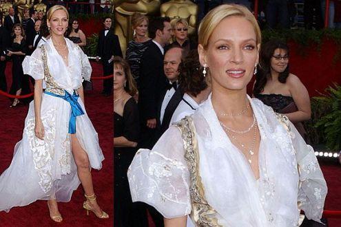 Uma Thurman Oscar 2004