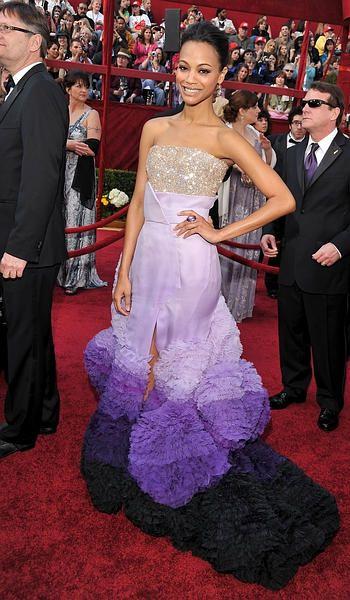Zoe Saldana Oscar 2011