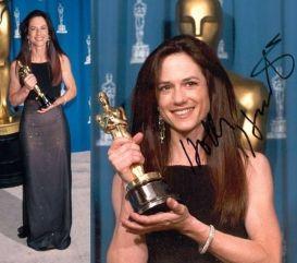 Oscar 1994 Holly Hunter (O Piano) veste Vera Wang