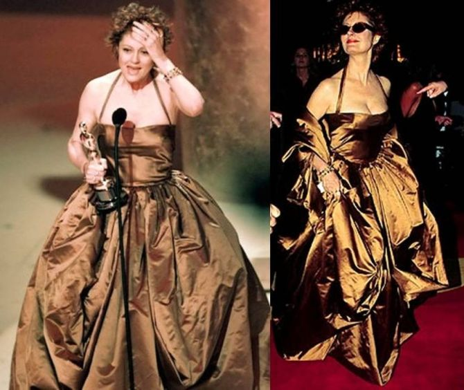 Oscar 1996 Susan Sarandon veste Dolce & Gabbana @ Getty