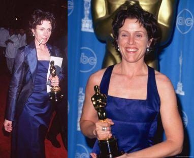 Oscar 1997 Frances McDormand veste Richard Tyler @ Getty