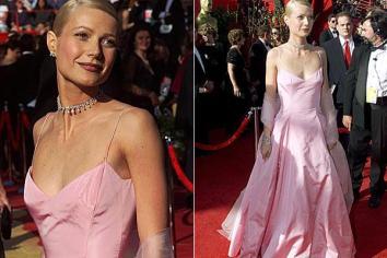 Oscar 1999 Gwyneth Paltrow (Shakespeare Apaixonado) veste Ralph Lauren @ Getty