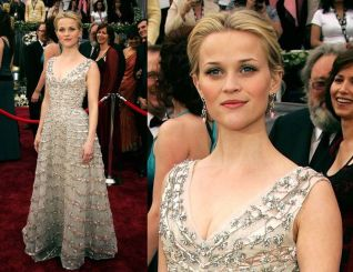 Oscar 2006 Reese Witherspoon (Johnny & June) veste Dior @ Getty
