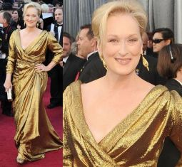 Oscar 2012 Meryl Streep (Dama de Ferro) veste Lanvin @ Getty