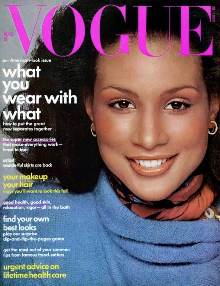 Beverly Johnson - Vogue America - Agosto 1974 @ Reprodução