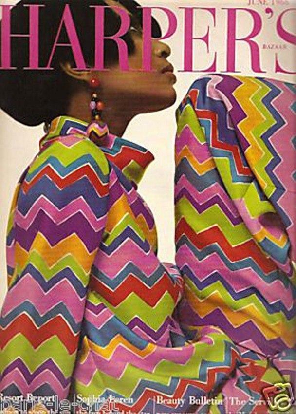 Donyale Luna Harper's Bazaar 1965 @ Reprodução