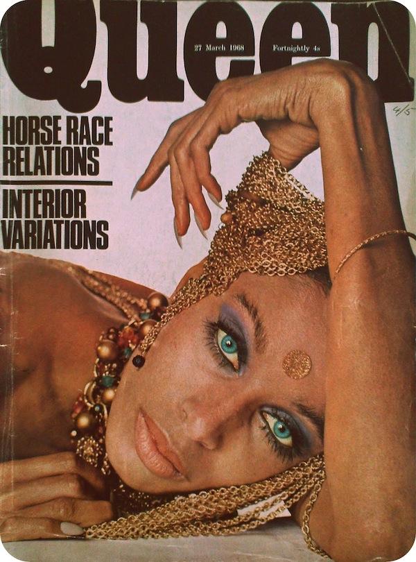 Donyale Luna Queen Magazine Março 1968 @ Reprodução