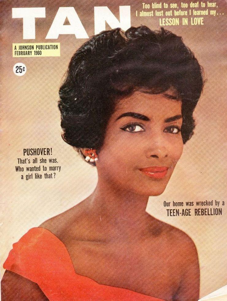 Helen Williams Tan Magazine - Fevereiro 1960 @ Reprodução