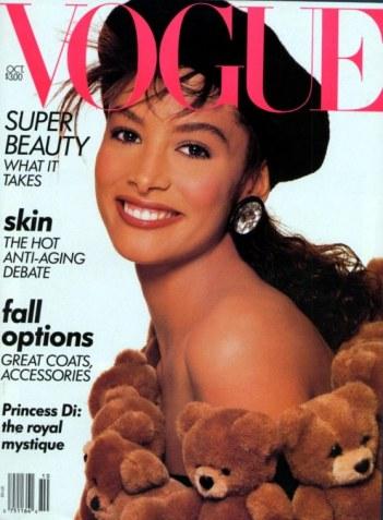 Kara Young Vogue Outubro 1989 @ Richard Avedon
