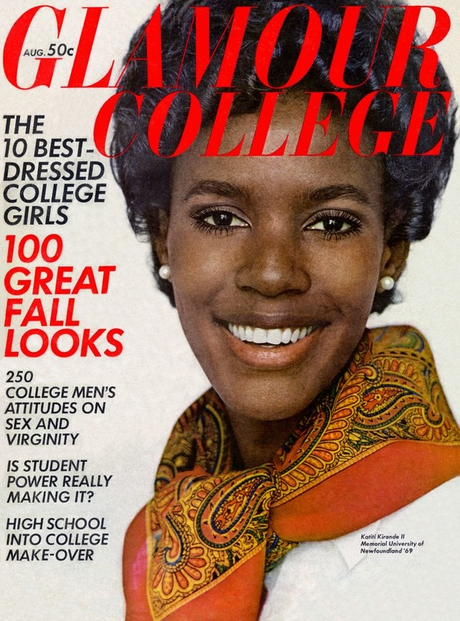 Katiti Kironde Glamour College - Agosto 1968 @ Reprodução
