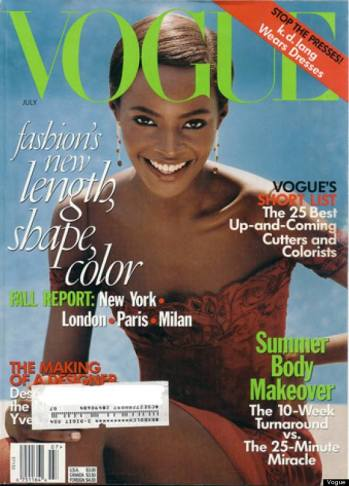 Kiara Kabukuri - Vogue Julho 1997 @ Steven Meisel