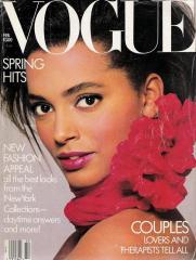 Louise Vyent - Vogue Fevereiro 1987 @ divulgação