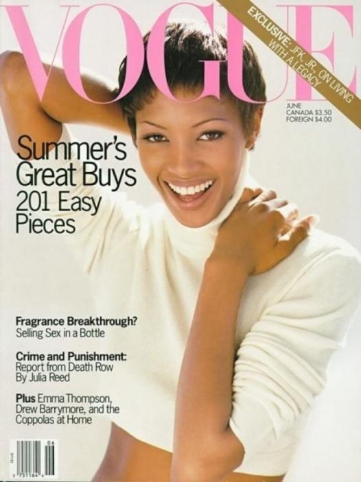 Naomi Campbell - Vogue - Junho 1993 @ Reprodução