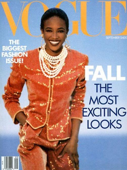 Naomi Campbell - Vogue - Setembro 1989 @ Reprodução