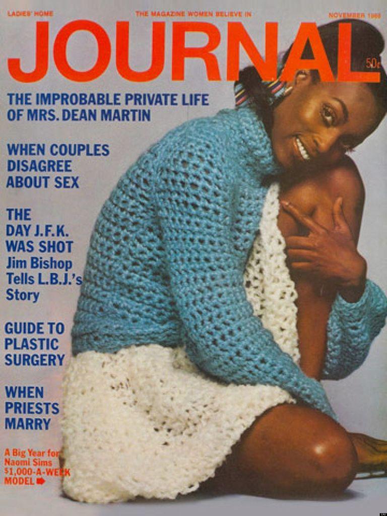 Naomi Sims - Ladies' Home Journal - Novembro 1968l @ Reprodução