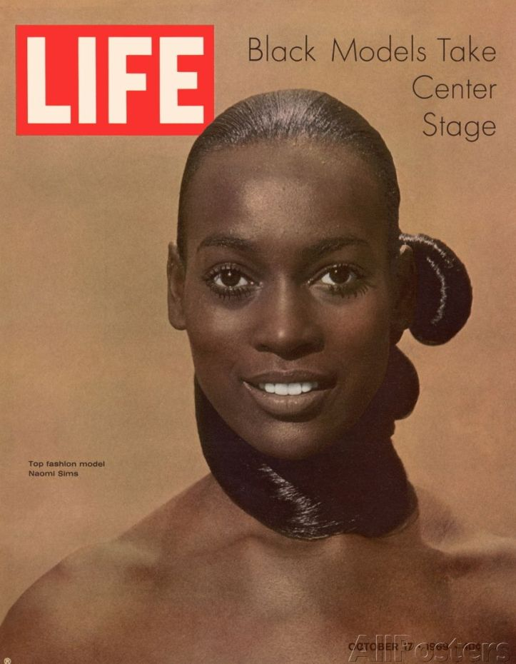 Naomi Sims - LIFE Magazine - Outubro 1969 @ Reprodução