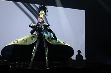 2009 Grace Jones - Hurricane Tour (Figurinos Eiko Ishioka)0