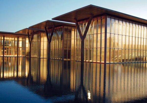 Museu de Arte Moderna de Forthworth, Texas by Tadao Ando