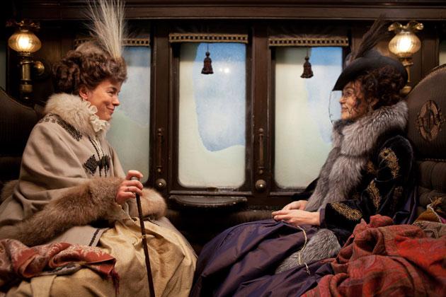Keira Knightly em Anna Karenina (Figurinos Jaqueline Durran)