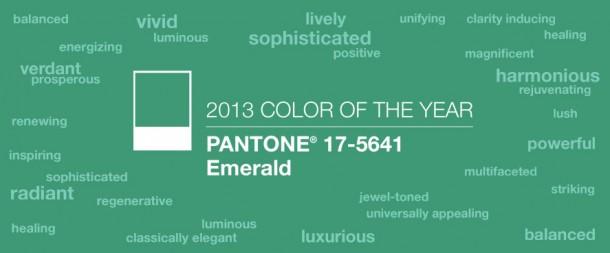 Cor Pantone 2013 - Esmeralda (2)