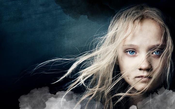 Les Miserables 2012 - Isabelle Allen, a jovem Cosette