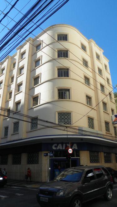 Edifício da antiga Caixa Econômica Estadual - 1938 @ Foto Patrícia Forte