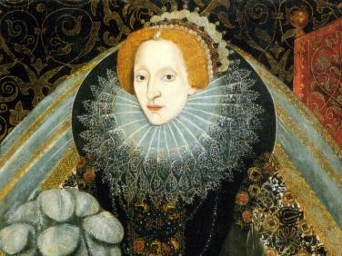 O exuberante rufo usado pela Rainha Elizabeth I