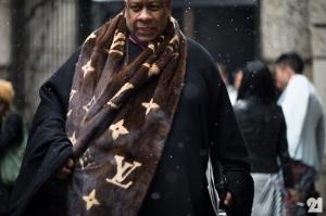 Andre Leon Talley foi editor de moda da Vogue e atualmente da revista NÚMERO @ Foto Divulgação