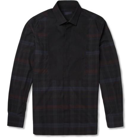 Camisa Xadrez Lanvin