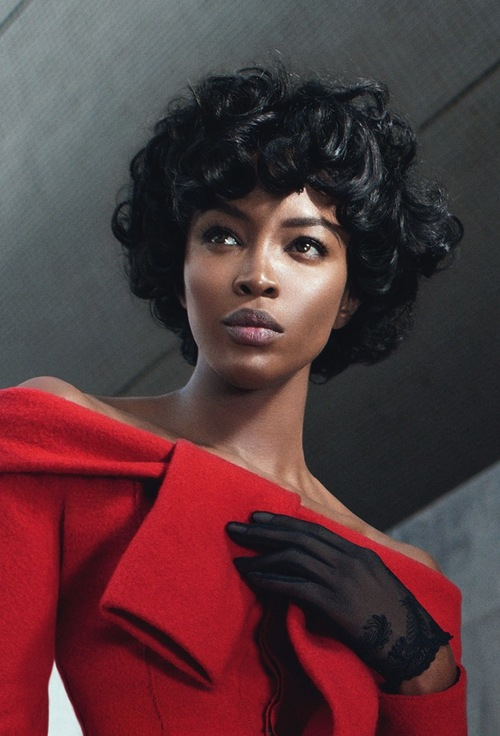 Naomi Campbell W Magazine Out 2013