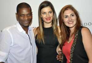 Juliano Silveira, Isabeli Fontana e Bruna Said Miguel na Tufi Duek do Iguatemi @ Foto Nice Miorim